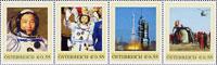 Am 15. Oktober 2003 brachte China als dritte Nation mit eigenen Mitteln einen Astronauten ins Weltall: Den sogenannten Taikonauten Yang Liwei.Von der Gesamtauflage sind nur 300 Sätze postfrisch erhalten. Auf den Kleinbogen ist am oberen Rand, entgegen der üblichen Vorgehensweise, ein Text China in Space aufgedruckt!