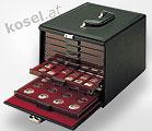 koffers voor de muntenboxen